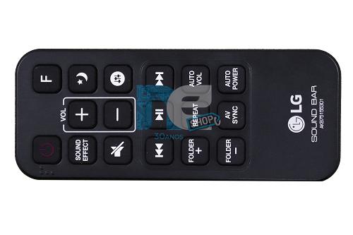 CONTROLE REMOTO ORIGINAL LG SOUNDBAR AKB75155301 SJ5
