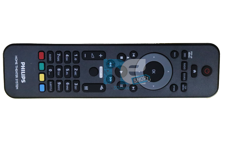 CONTROLE REMOTO PHILIPS  HOME THEATER HTB5570D HTD3500 HTD3509X HTD3510X