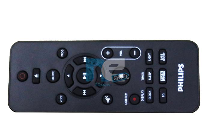 CONTROLE REMOTO PHILIPS SOM MINI SISTEM RC-5760 FX20X/77 FX30X/77 FX50X/77 FX70/77