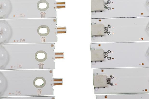 KIT BARRA DE LED AOC LE50S5970 LE50U7970 COM 12 BARRAS CEJJ-LB500Z-12S1P-F2835-A-5