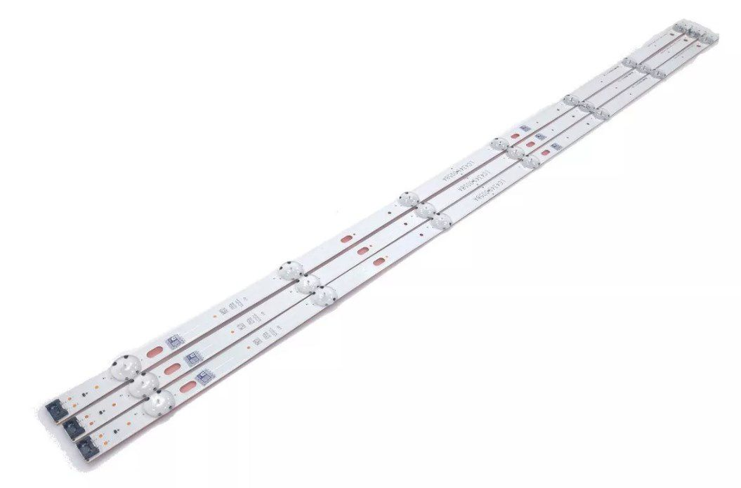 KIT BARRA DE LED LG 43LJ5500 43LJ5550 43LJ551 43UJ6300 43LK5700 43LK571 LC43490058A