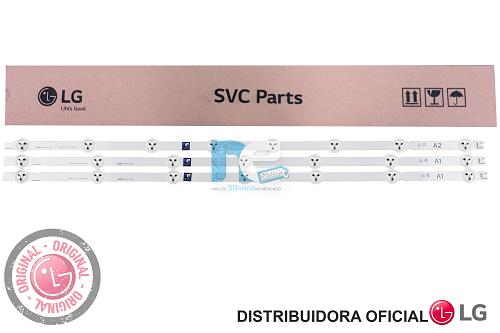 KIT BARRA DE LED ORIGINAL LG 32LN5400 32LA613B A1 A2 A1 AGF78399301 AGF78399201