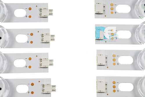 KIT BARRA DE LED ORIGINAL LG 39LN5400 39LN5700 39LA6200 39LN549C AGF80284401 AGF78400401