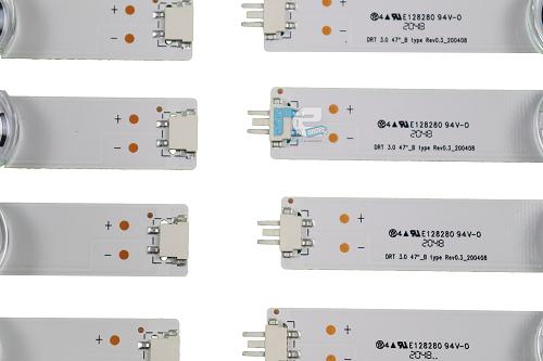 KIT BARRA DE LED ORIGINAL LG 47LB5600 47LB5800 47LB6500 AGF78400901 AGF78401001