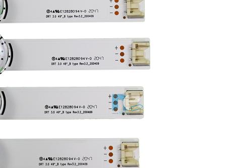 KIT BARRA DE LED ORIGINAL LG 49LB5500 49LB5600 49LB6200 49LF6200 49LF5500 AGF78402201