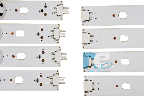 KIT BARRA DE LED ORIGINAL LG 49LH5100 49LH5150 49LH5700 AGF79105801