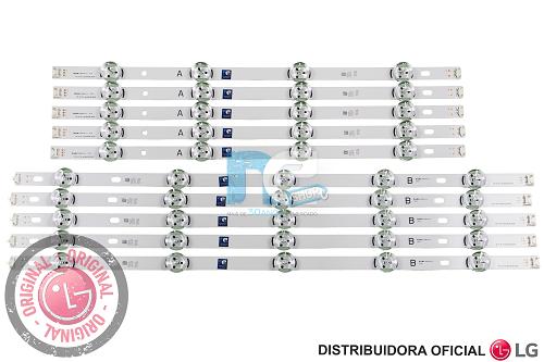 KIT BARRA DE LED ORIGINAL LG 50LB5500 50LB5600 50LB5800 50LB6500 AGF78401301