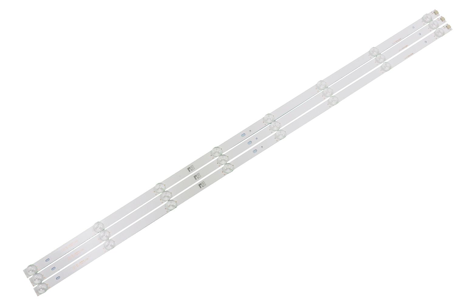 KIT BARRA DE LED PANASONIC TC-40D400B TC-40DS600B TC-40FS600B