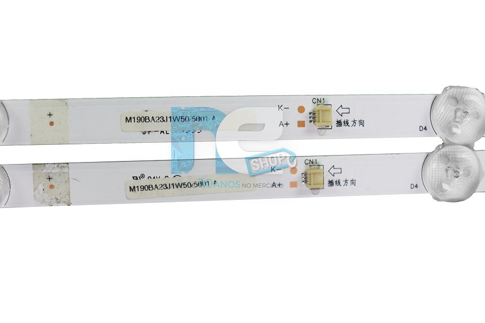 KIT BARRA DE LED PHILCO PH32B51DSGWA 32B51HD02X5-G0028 COM 5 LEDS