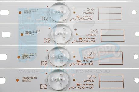 KIT BARRA DE LED PHILCO PH43E30DSGW PH43E30D