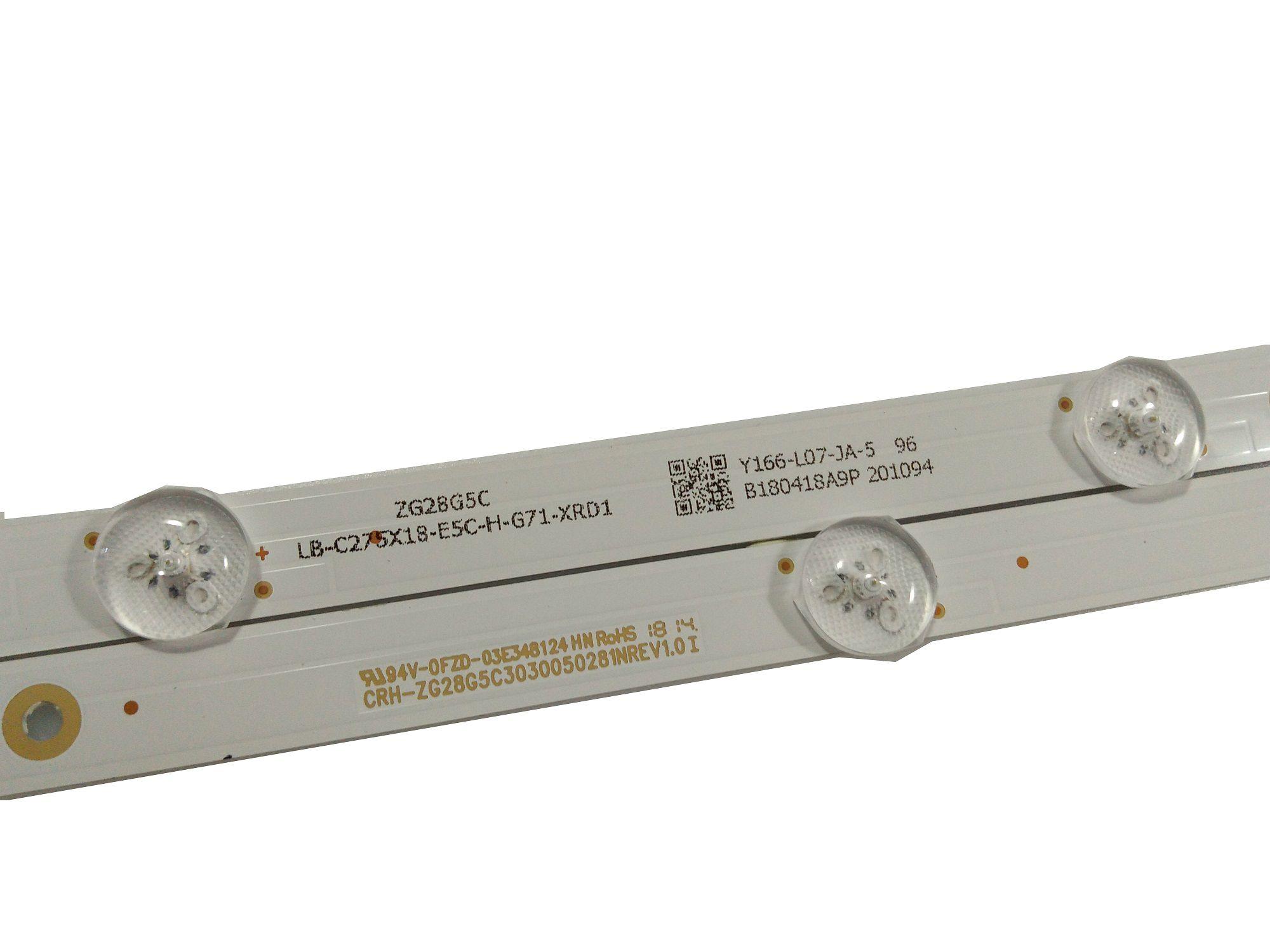 KIT BARRA DE LED PHILCO PTV28G50SN
