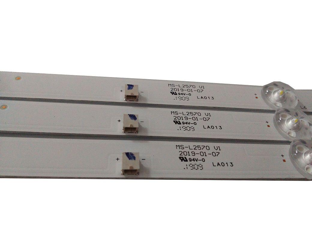KIT BARRA DE LED PHILCO PTV43G50SN MS-L2570 V1