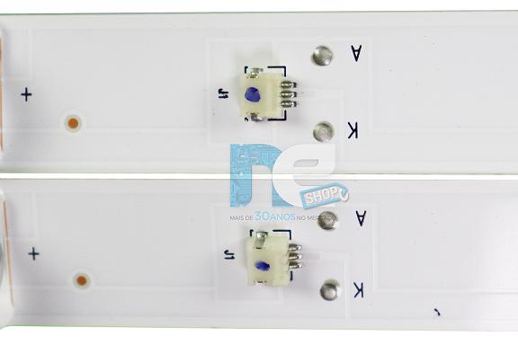 KIT BARRA DE LED PHILCO PTV50D60SA 0D50D09-ZC23AG-03