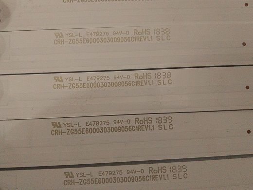KIT BARRA DE LED PHILCO PTV55F61SNT PTV55F62SNT LC-C550U16-E60-H-G01-XRDS