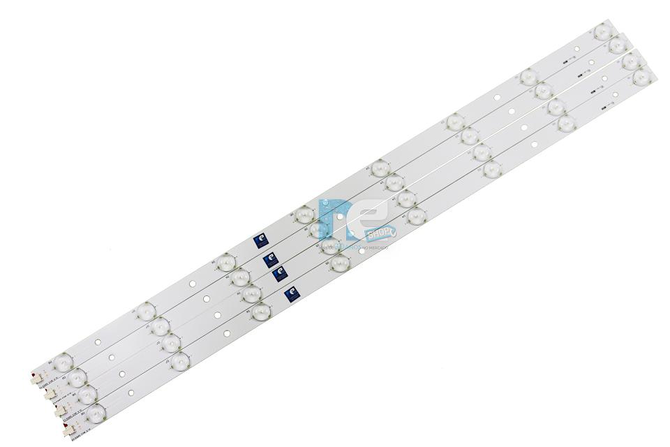KIT BARRA DE LED PHILIPS 32PFL3008D 32PFL3018D