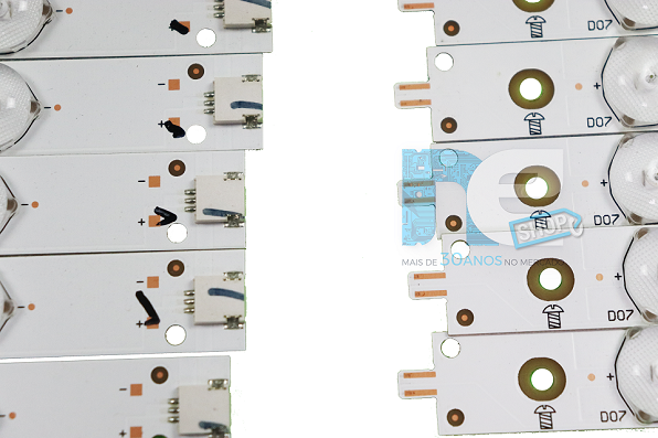 KIT BARRA DE LED PHILIPS 49PUG6801 GJ-2K16-490-D712-P5-R
