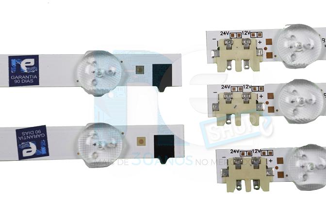 KIT BARRA DE LED SAMSUNG UN32F4200 UN32F4300 UN32F5500 UN32F5200