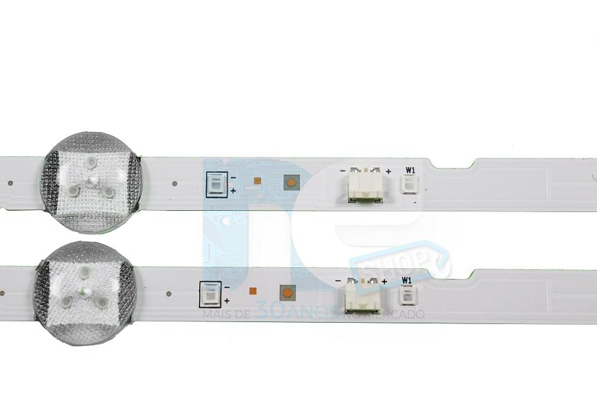 KIT BARRA DE LED SAMSUNG UN32J4000AG UN32J4300AG 36233A + 36234A
