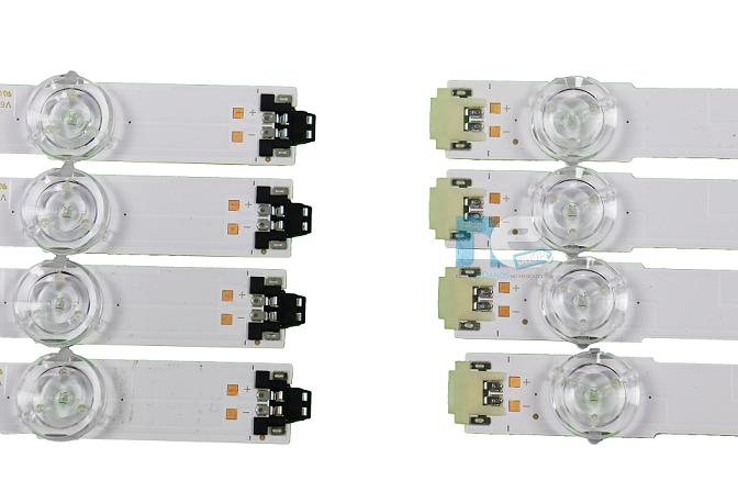 KIT BARRA DE LED SAMSUNG UN43KU6300G UN43MU6300G UN43MU6100G
