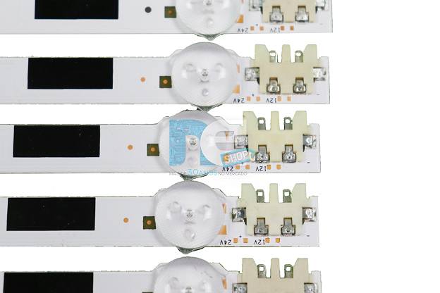 KIT BARRA DE LED SAMSUNG UN46F5200 UN46F5500 UN46F6100 UN46F6400 25308A + 25309A