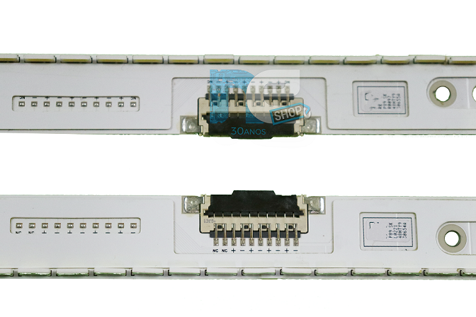 KIT BARRA DE LED SAMSUNG UN48H6800AG 30654A + 30655A