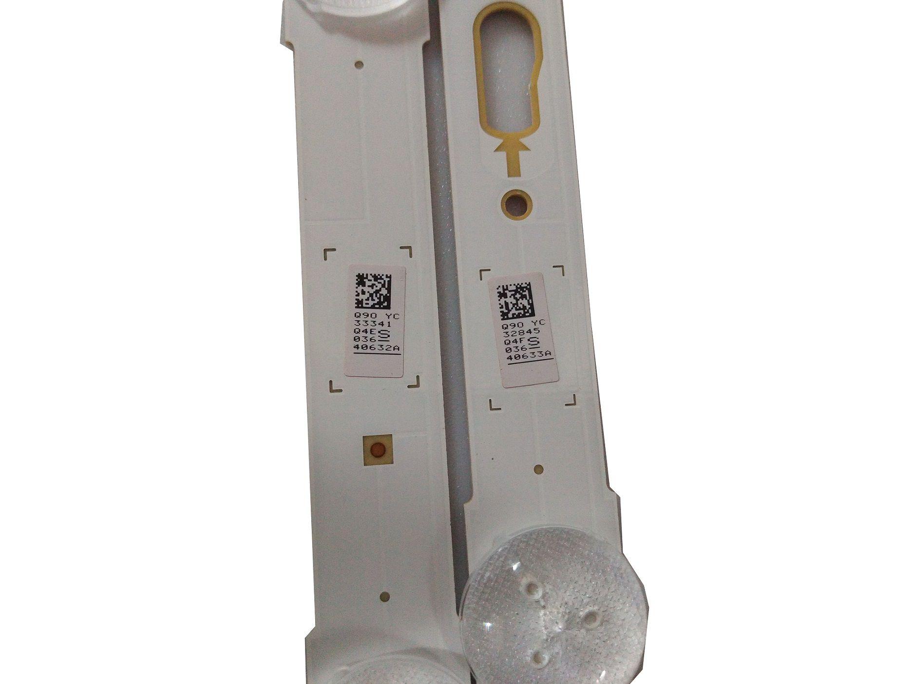 KIT BARRA DE LED SAMSUNG UN49KU6300G UN49MU6300G UN49MU6100G 40632A + 40633A