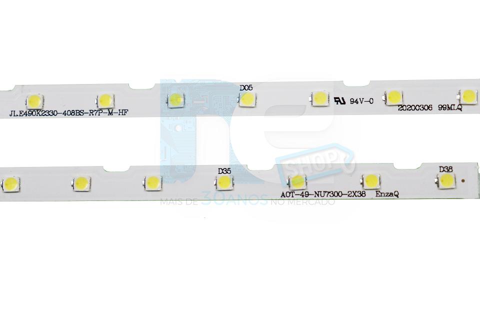 KIT BARRA DE LED SAMSUNG UN49NU7100 UN49RU7100 UN49NU7300