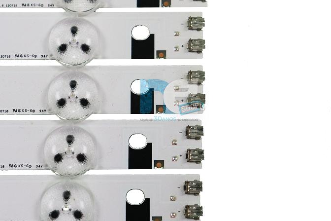 KIT BARRA DE LED SAMSUNG UN55EH6000G