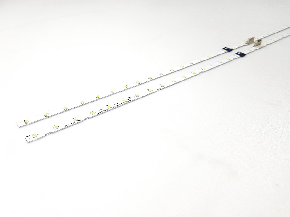 KIT BARRA DE LED SAMSUNG UN55NU7100G UN55RU7100G