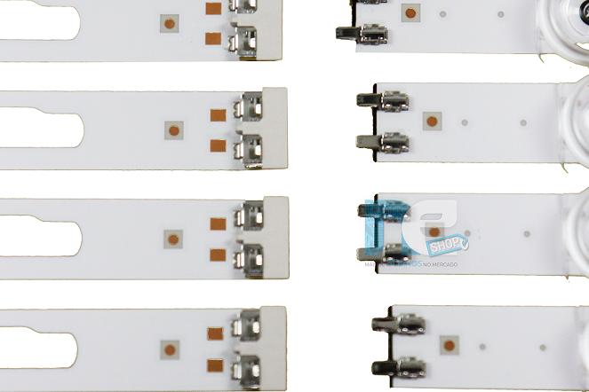 KIT BARRA DE LED SAMSUNG UN58TU7000G UN58TU8000G 50458A + 50459A