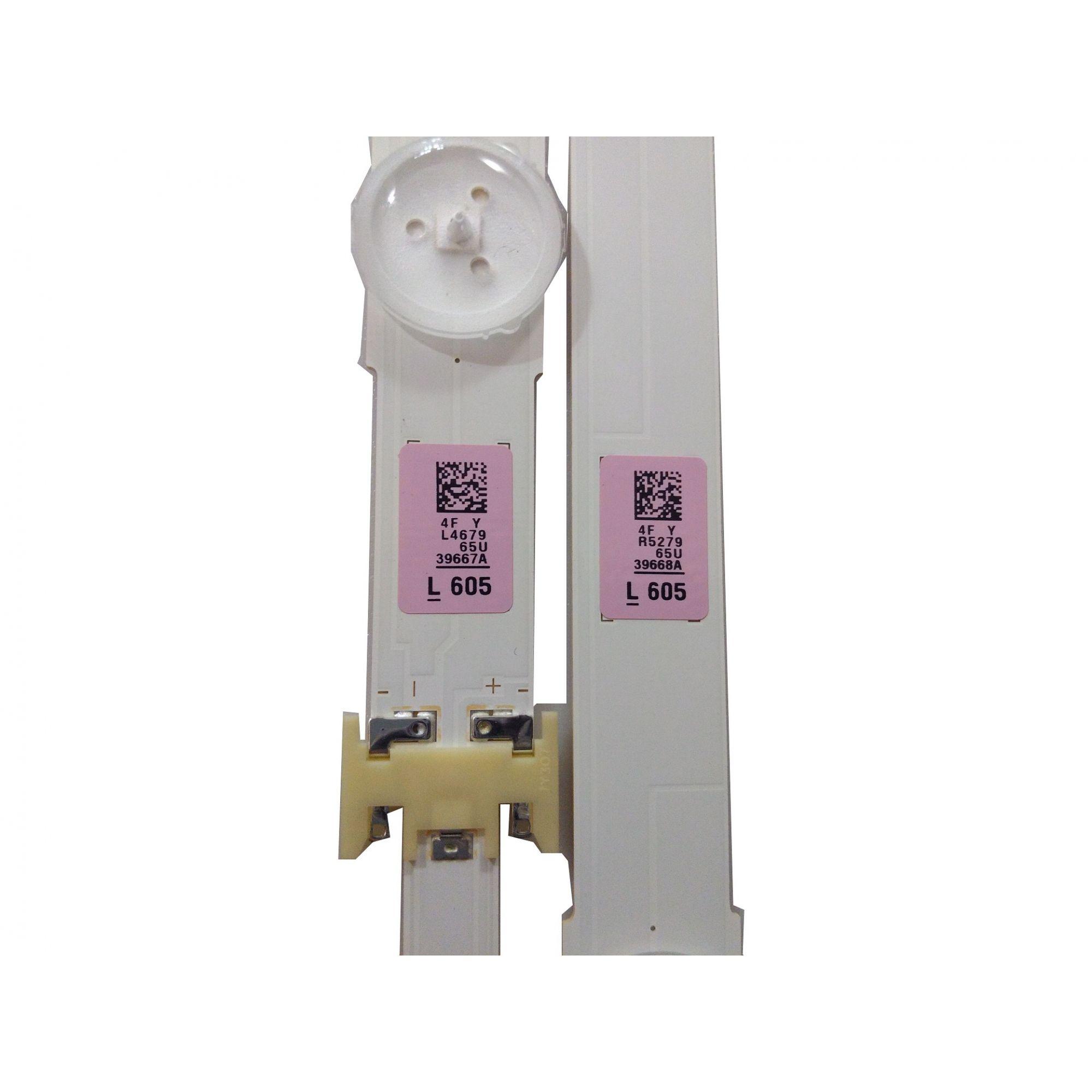 KIT BARRA DE LED SAMSUNG UN65MU6100G 39667A + 39668A