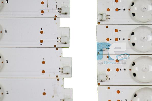 KIT BARRA DE LED SONY KD-49X7005D R + L