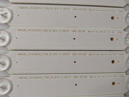 KIT BARRA DE LED SONY XBR-65X750D LM41-00116K