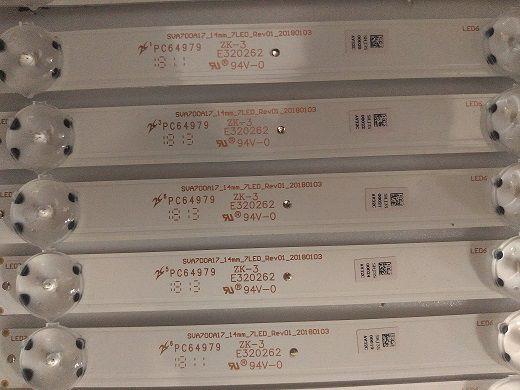 KIT BARRA DE LED SONY XBR-70X835F SVA700A17
