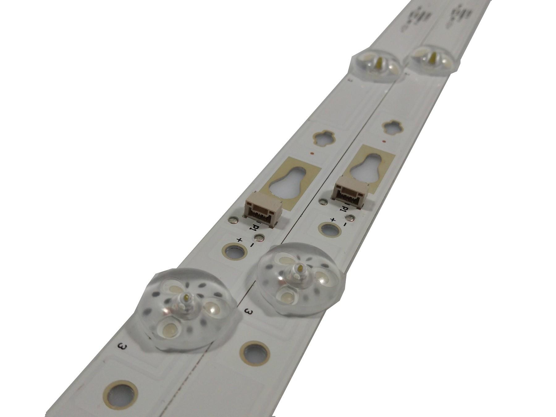 KIT BARRA DE LED TOSHIBA 32S6500S 32D1200