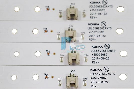 KIT BARRA DE LED TOSHIBA 55SK6200 *35023082
