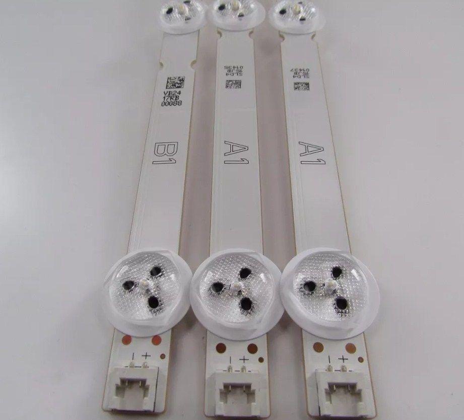 KIT COMPLETO BARRA DE LED LG 32LN540B 32LN5400 32LN570B A1-A1-B1