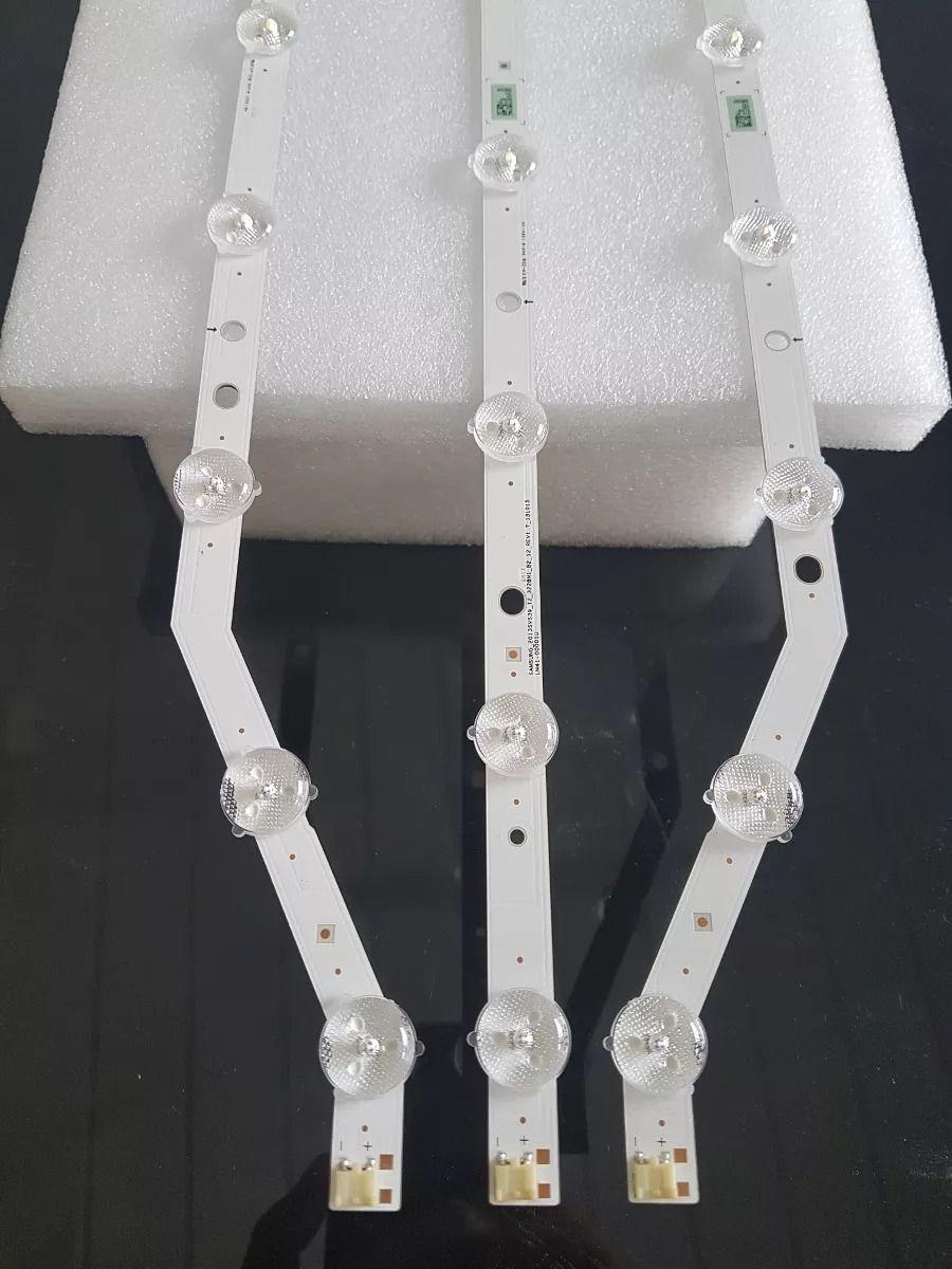 KIT COMPLETO BARRAS DE LED SAMSUNG UN39FH5205G UN39FH5203G UN39FH5003G