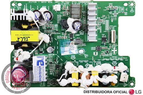 PLACA AMPLIFICADORA SOUNDBAR ORIGINAL LG SL6Y SL9Y EBR87407101