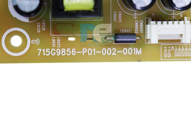 PLACA FONTE AOC 43S5295/78G 715G9856-P01-002-001M