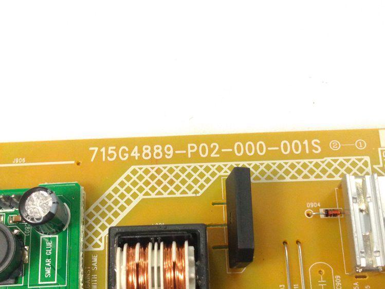 PLACA FONTE AOC MONITOR 196V3L 715G4889-P02-000-001S