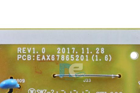 PLACA FONTE ORIGINAL LG 55UK6360PSF 55UK6360 LGP65TJ-18U1