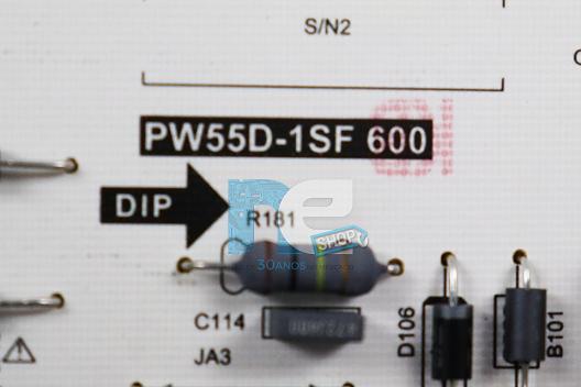 PLACA FONTE PHILCO PTV28G50SN PTV32G50SN PW55D-1SF 600