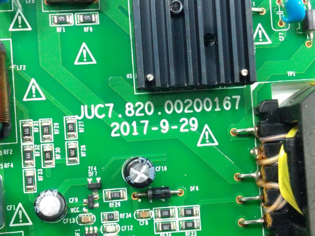 PLACA FONTE PHILCO PTV49E68DSWN JUC7.820.00200167