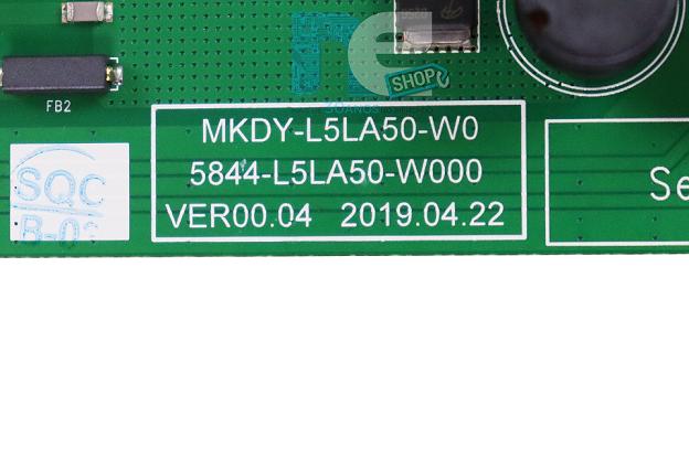 PLACA FONTE PHILCO PTV50Q20SNBL PTV55Q20SNBL PTV55Q20AGBLS 4K MKDY-L5LA50-W000