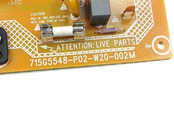 PLACA FONTE PHILIPS 42PFL3507 715G5548-P02-W20-002M / 715G5548-P01-W20-002M