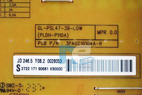 PLACA FONTE PHILIPS 47PFL4007G/78