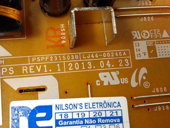 PLACA FONTE PHILIPS PH43C21P LJ44-00246A