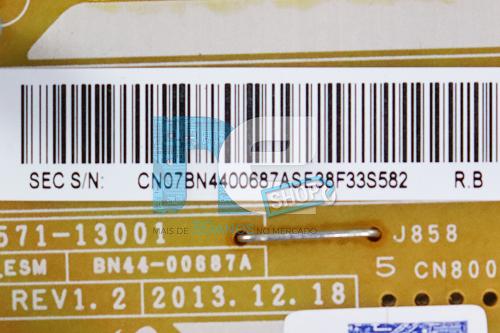 PLACA FONTE SAMSUNG PN51H4500AG PN51H4900AG BN44-00687A