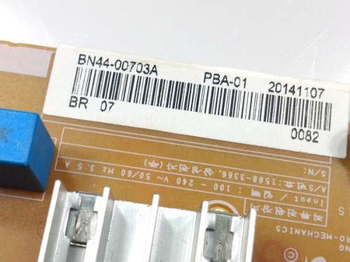 PLACA FONTE SAMSUNG UN40H5500 UN40H5550 UN48H5500 UN48H5550 UN48H6300 BN44-00703A